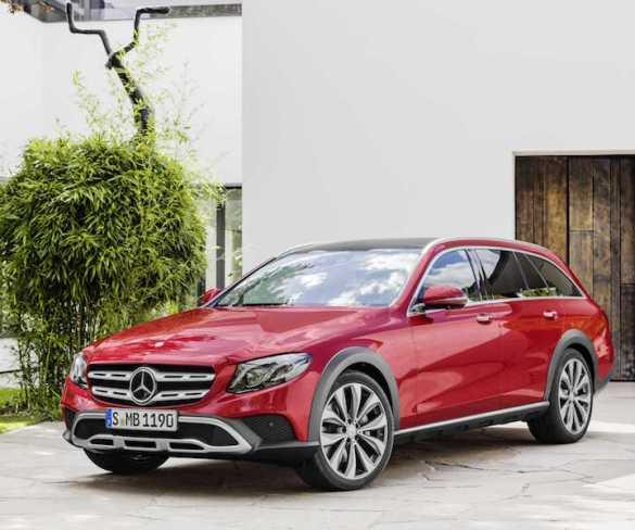 Mercedes reveals E-Class All-Terrain ahead of Paris debut
