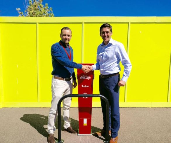 ChargedEV becomes sole installation partner for Tusker