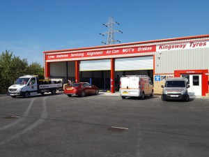 Kingsway Tyres new auto centre in Retford