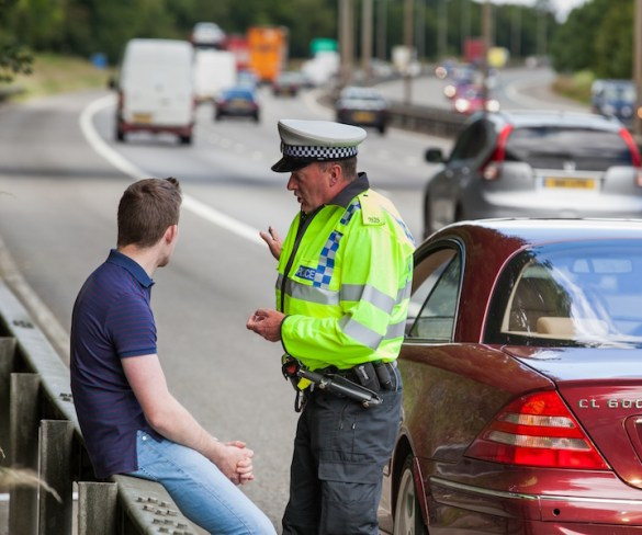 Only 135 drivers charged with middle-lane hogging