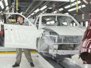 Nissan production site in UK