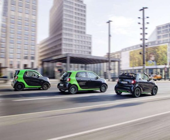 Electric Smart Fortwo, Cabrio and Forfour revealed ahead of Paris