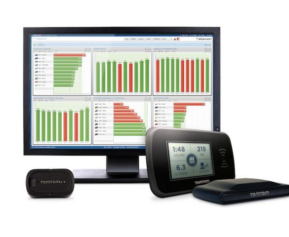 TomTom PRO 2020 solution targets large car and van fleets