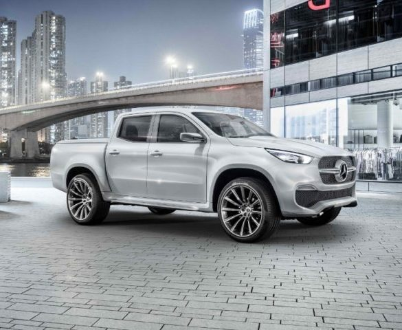 Mercedes-Benz pickup targets company car drivers
