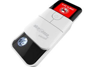 The new AlcoSenseExcel breathalyser