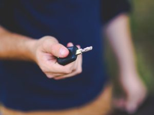 Driver with key