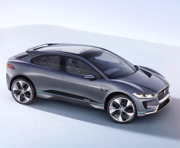 Jaguar reveals I-Pace electric SUV