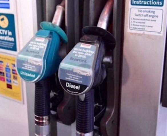 Price of unleaded to leapfrog diesel