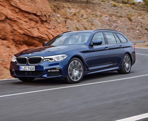 BMW 5 Series Touringunveiled at Geneva