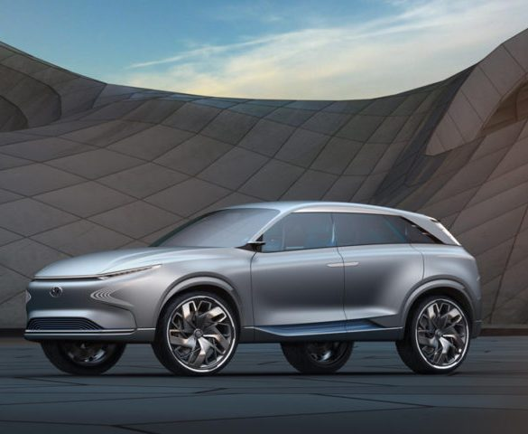 Hyundai FE Fuel Cell Concept has near 500-mile range