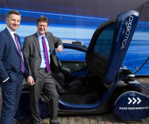 Funding for connected and autonomous vehicles to include public testing