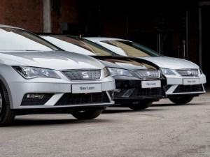 Red Bull's new SEAT Leon fleet