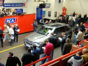 BCA used car at auction
