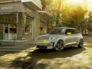 MINI Electric Concept unveiled