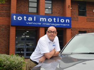 Simon Hill, managing director of Total Motion