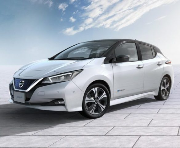 New Nissan LEAF goes further, faster