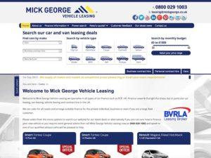 Mick George leasing broker website