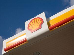 Shell forecourt