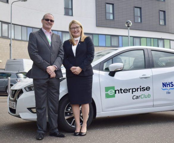 NHS Fife replaces grey fleet with car club