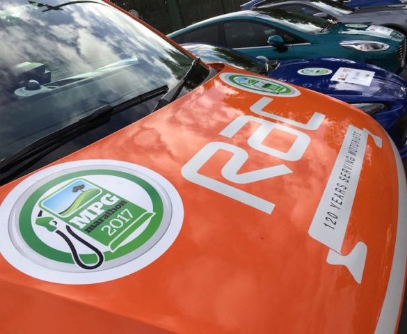 UK's greatest eco drivers compete for 2017 MPG Marathon honours