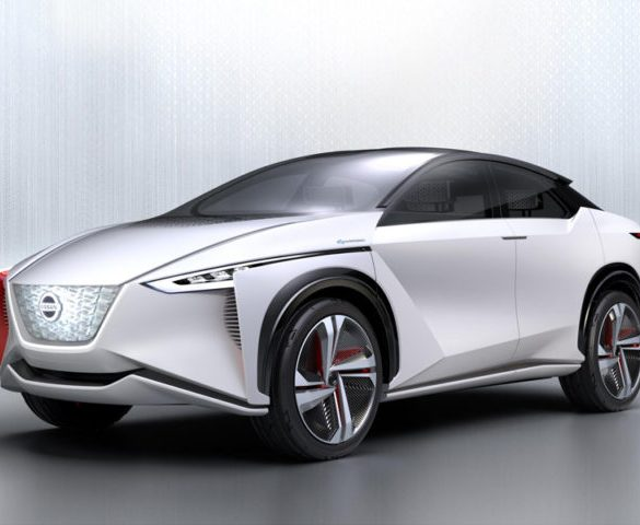 Nissan showcases electric crossover and performance Leaf