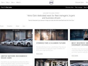 Volvo's Global News Hub