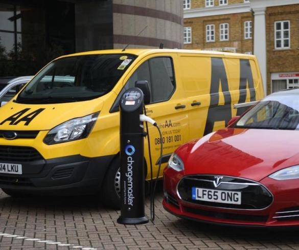 EV drivers offered emergency charging service under AA