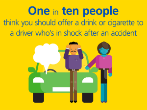 Aviva and St John Ambulance have produced a free guide on what to do at the scene of an accident