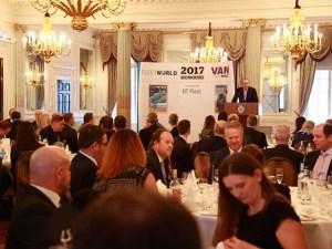 The Fleet World and Van Fleet World Honours 2017 at the RAC Club, Pall Mall, London.