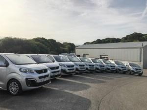 Spectrum replaces fleet with 25 Peugeot Travellers