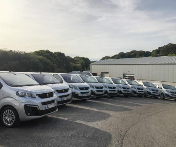 Spectrum replaces fleet with Peugeot Travellers