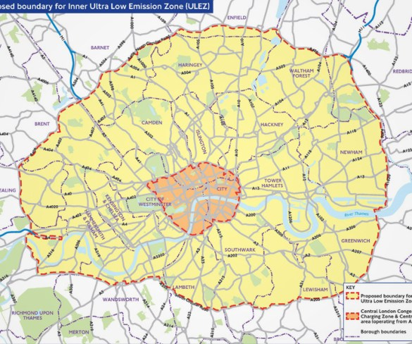 Fleets urged to have say as Ultra-Low Emission Zone expansion consultation opens