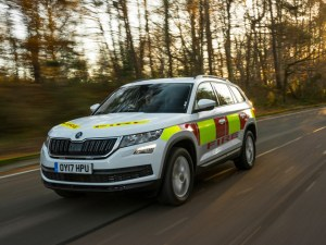 Škoda has added to its emergency services vehicle line-up