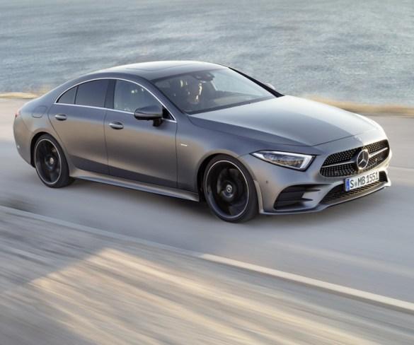 Mercedes-Benz reveals new CLS coupé