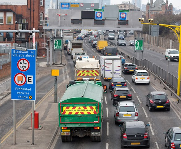 Campaign cuts Blackwall Tunnel closures by 15%