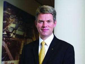 Paul Philpott, president and CEO of Kia Motors UK