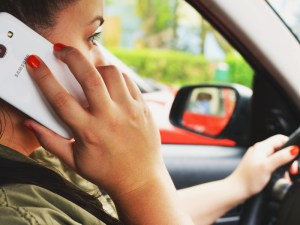 Could the fall in fines be the result changes in driver behaviour or a reduced police presence?