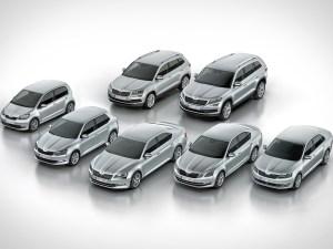 Škoda range
