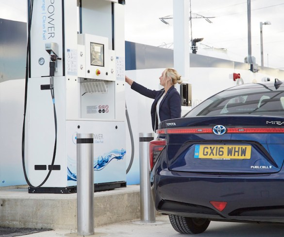Allstar cards now accepted at ITM's hydrogen fuel network