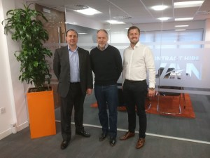 Vehicle Consulting - Craig Davy, Simeon Briggs, Lee Wolstenholme (L to R)