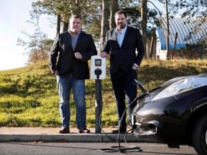 Elmtronics CEO Dan Martin (right) and Technical Director Anthony Piggott (left)