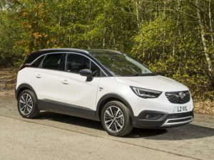 Top market share winner in Europe was the Vauxhall/Opel Crossland X