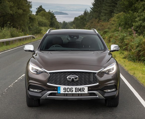 New trim level structure for Infiniti Q30 and QX30