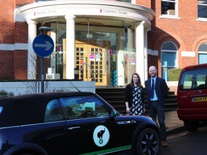 Stephens Scown LLP has become the first business in the UK to install Lightfoot into its pool cars