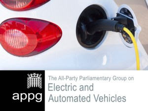 All-Party Parliamentary Group (APPG) on Electric and Autonomous Vehicles established