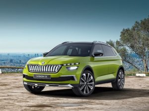 The Vision X previews a third model for Skoda's SUV line-up.