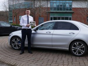 Ogilvie Fleet remarketing manager Karl Ward with the APPraisal tool.