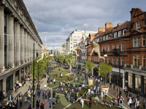 An area between Orchard Street and Oxford Circus could be pedestrianised by December 2018