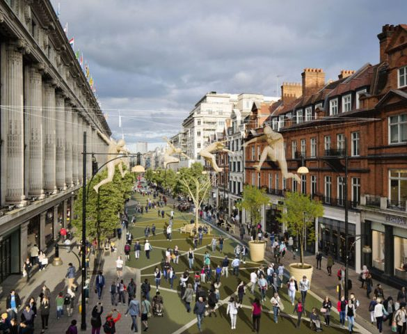Public back plans to pedestrianiseOxford Street