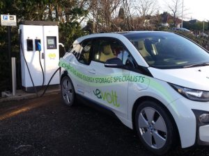 The eVolt Raption 50kW rapid chargerswill join the ChargePlace Scotland network.